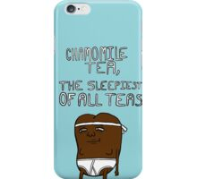 chamomile tea: regular show. iPhone Case/Skin