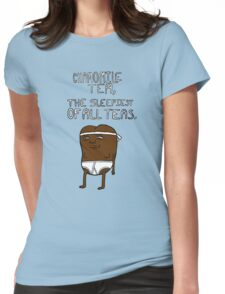 chamomile tea: regular show. Womens Fitted T-Shirt