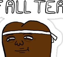 chamomile tea: regular show. Sticker