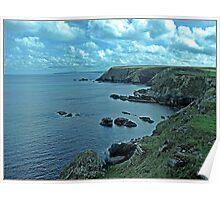 """""""The North Cornish Coast"""" Poster"""