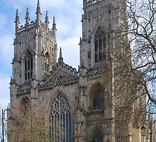 York Minster by Peter Reid