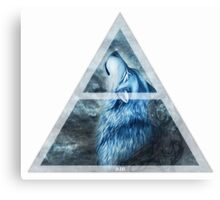 4 Elements - AIR Wolf Canvas Print