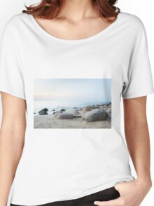 stone beach Women's Relaxed Fit T-Shirt
