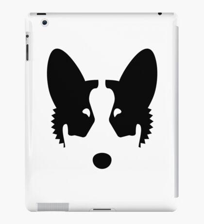 Corgi Ink Blot iPad Case/Skin