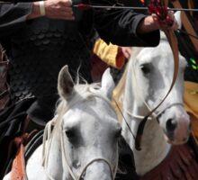 Archer on Horseback Sticker