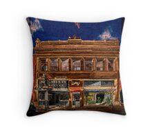 Franklin Building Throw Pillow