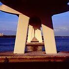 Fishing under the bridge by njordphoto