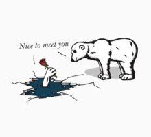 How much does a polar bear weigh? One Piece - Short Sleeve