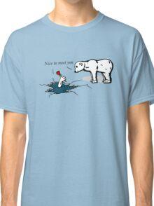 How much does a polar bear weigh? Classic T-Shirt