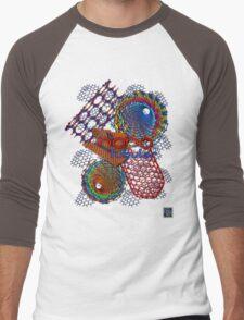"""Nano Tubular""© Men's Baseball ¾ T-Shirt"