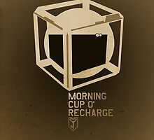 ingress : morning cup 'o recharge by precociousmouse