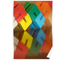 Colorful Reflection... Poster