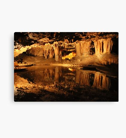 Reflection Pool Dixie Caverns Canvas Print