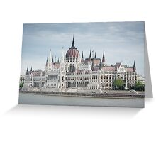 Budapest Greeting Card