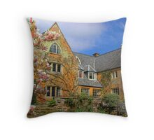 Coton Manor Throw Pillow