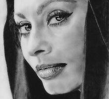 Sophia Lauren (Graphite) by Wilson C. Monteiro