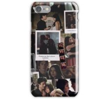 Damon and Elena - The Vampire Diaries iPhone Case/Skin