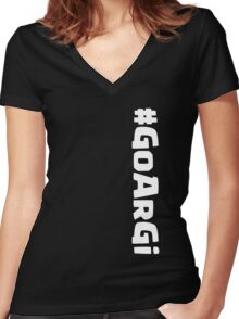 CoC Army Comp - GoArGi Women's Fitted V-Neck T-Shirt
