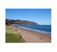 Aspy Bay and Cape North Art Print