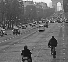 Champs Elysees by Al Bourassa