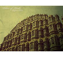 Palace of Winds, Jaipur, India Photographic Print
