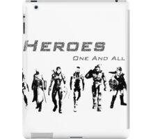 Heroes Landscape (Dark) iPad Case/Skin
