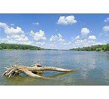 Sunny Danube Riverscape Photographic Print