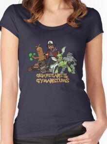 Guardians of the Gymnasiums Women's Fitted Scoop T-Shirt