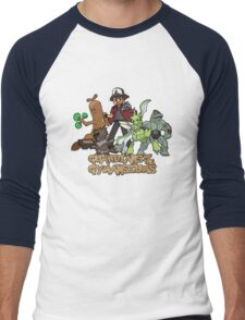 Guardians of the Gymnasiums Men's Baseball ¾ T-Shirt