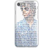 CHIEF KEEF WORD GRAM iPhone Case/Skin