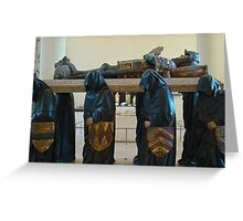 Dead Of Knight Greeting Card