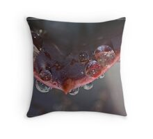 Satan Waits Throw Pillow