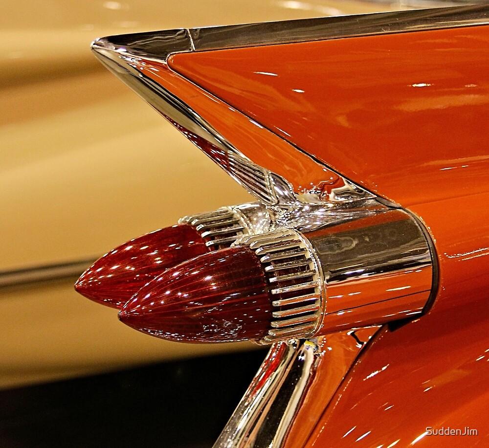1959 Cadillac Convertible Tail Fin by SuddenJim