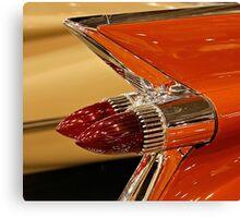 1959 Cadillac Convertible Tail Fin Canvas Print