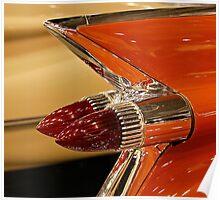 1959 Cadillac Convertible Tail Fin Poster