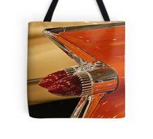 1959 Cadillac Convertible Tail Fin Tote Bag