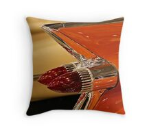 1959 Cadillac Convertible Tail Fin Throw Pillow