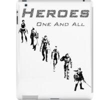 Heroes Portrait (Dark) iPad Case/Skin