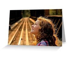 Sunny Day Contemplations Greeting Card