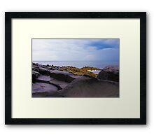 Fionn mac Cumhaill's Stepping Stones Framed Print