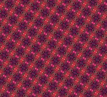 Little Fractal Bugs (Abstract) by ifourdezign