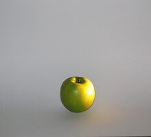 Floating Apple by Damien McCloud