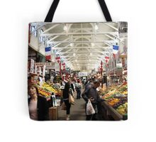 Market In St-John New Brunswick Tote Bag