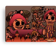Monsters on the Mountain Canvas Print