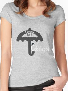 Everyone Has A Cobblepot Women's Fitted Scoop T-Shirt