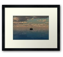 Off on Another Journey Framed Print