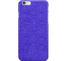 Blue Knit iPhone Case/Skin