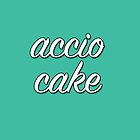 Accio Cake - Teal by writerfolk