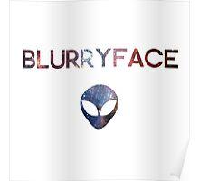 twenty one pilots - alien blurryface Poster
