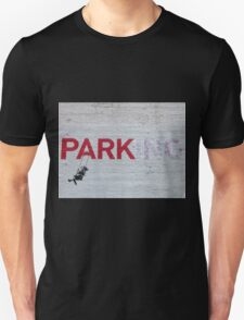 """PARKing"" - Banksy Unisex T-Shirt"